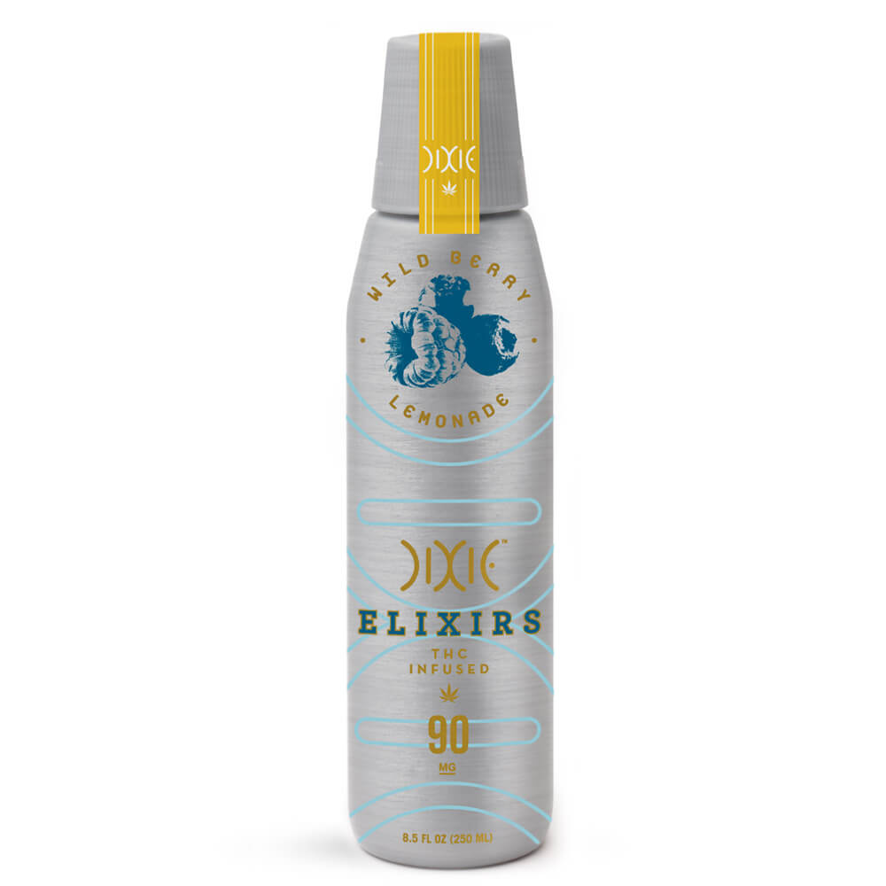 Dixie Elixirs Wild Berry Lemonade - 90 MG THC Drink
