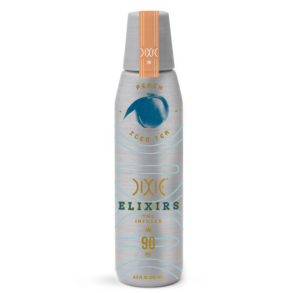 Dixie Elixirs Peach Iced Tea - 90 MG THC Drink