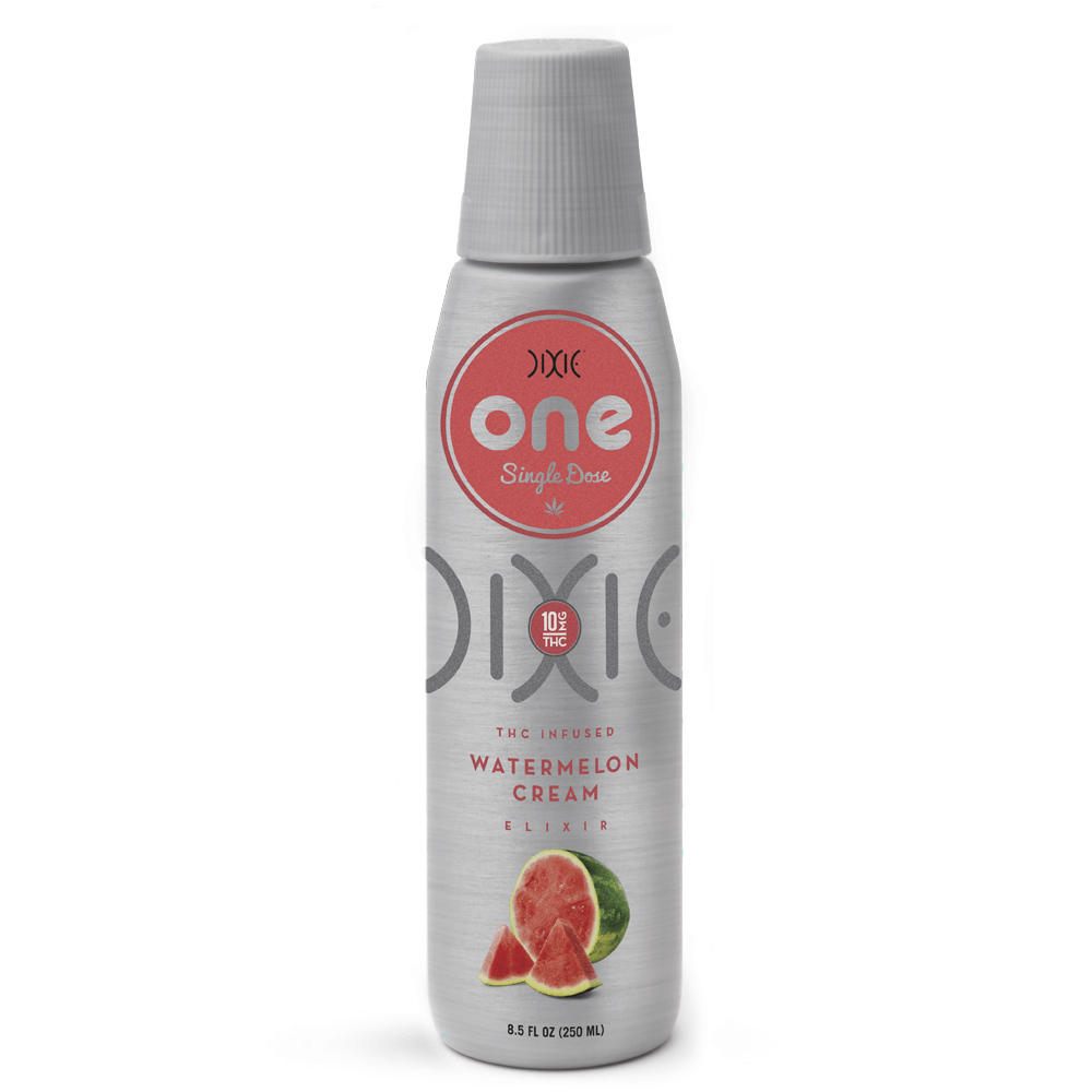 Dixie Elixirs Watermelon Cream - 10 MG THC Drink