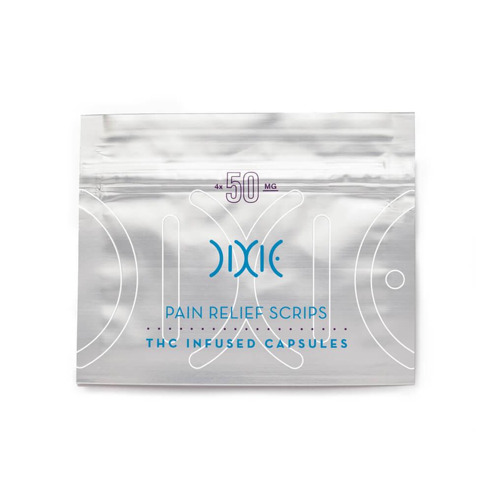 Dixie Pain Relief THC Prescription Pills