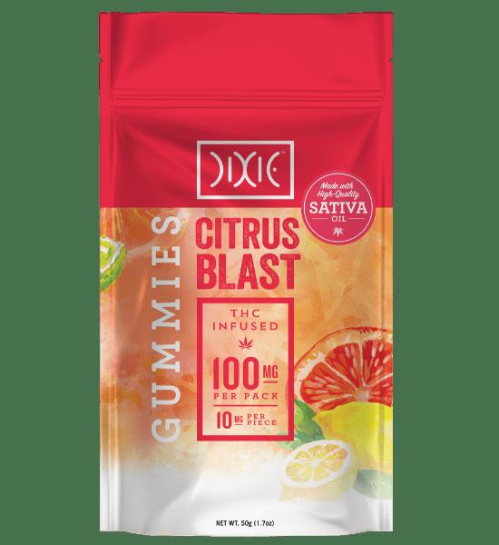 Dixie Citrus Blast Gummies Pouch