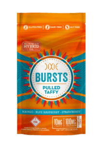 New Colorado edible by Dixie called Bursts Taffy