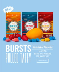 Best new edibles in Colorado: Bursts Taffy