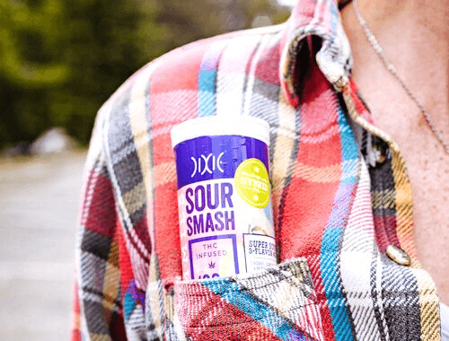 Edibles: Sour Smash Gummies by Dixie for Fall 2019